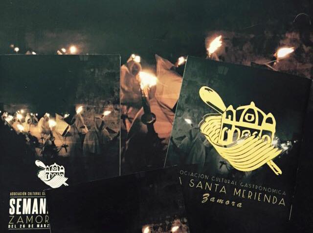 La Santa Merienda presenta el I Itinerario y Cartel de la Semana Santa Zamora 2015
