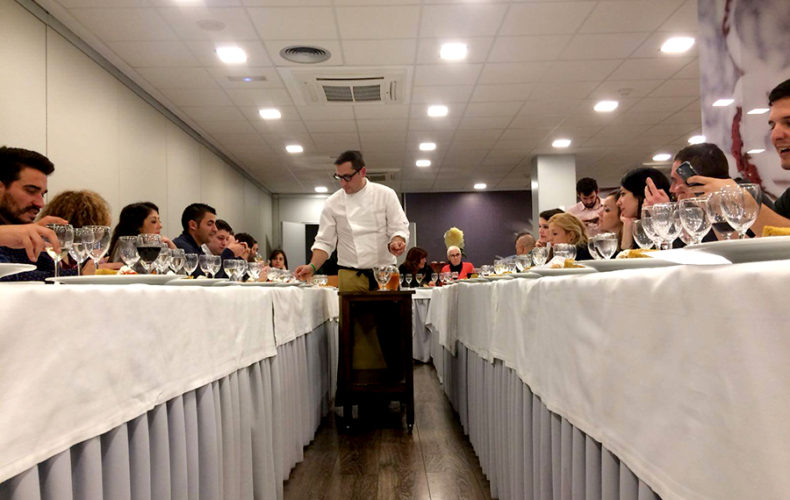 ¡Sí, chef! Showcooking en el Hotel Rey Don Sancho