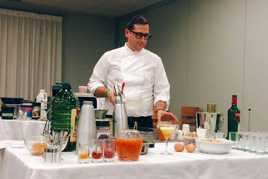 El chef Javi García