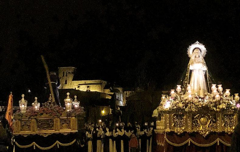 La despedida del Martes Santo, una tradición más