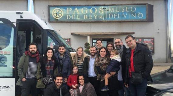 MARIDAJE DE OTOÑO ENTRE LA SANTA MERIENDA Y PAGOS DEL REY